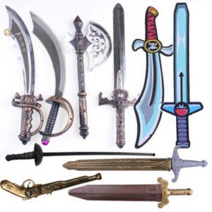 Armas y Espadas de plastico - Halloween